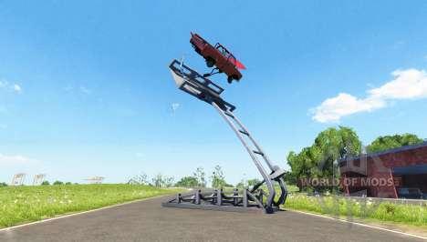 Катапульта для BeamNG Drive