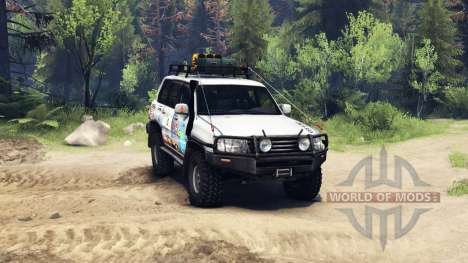 Toyota Land Cruiser 105 для Spin Tires