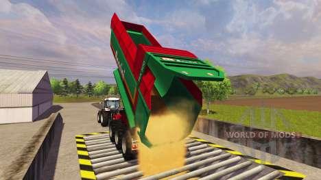 Прицеп Bossini RA 300 для Farming Simulator 2013