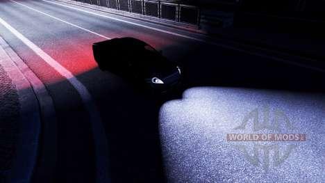 Световой мод для Euro Truck Simulator 2