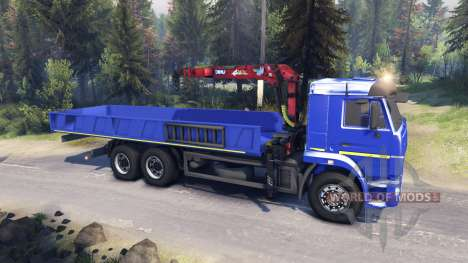 КамАЗ-65117 v1.1 для Spin Tires