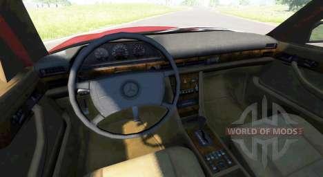 Mercedes-Benz W126 для BeamNG Drive