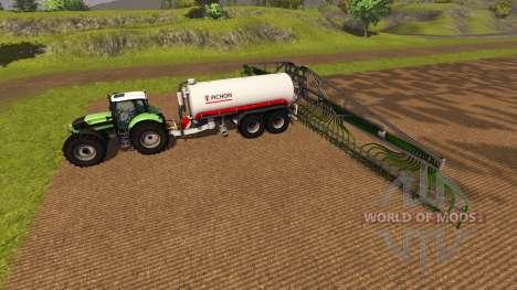 Прицеп Pichon Guellefass 19500i для Farming Simulator 2013