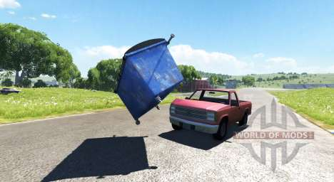 Мусорный бак для BeamNG Drive