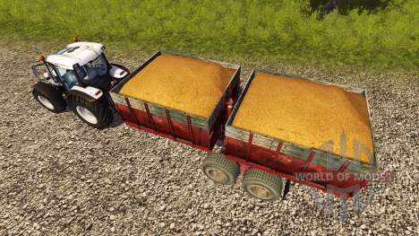 Прицеп 1ПТС-9 1990 для Farming Simulator 2013