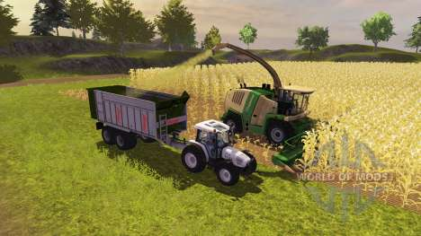 Прицеп Fliegl ASW 268 2011 для Farming Simulator 2013