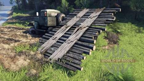 Мобильный мост для Spin Tires