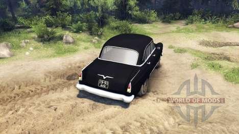 ГАЗ-21 Волга для Spin Tires
