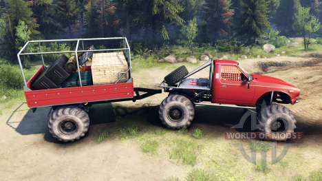 Toyota Hilux Truggy v1.0 wheels1 для Spin Tires
