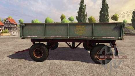 Прицеп 2ПТС-4 2009 v2.0 для Farming Simulator 2013