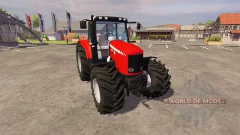 Massey Ferguson 6465 2006 для Farming Simulator 2013