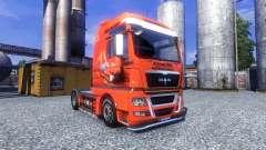 Окрас -Jagermeister- на тягач MAN TGX