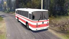 ЛАЗ-699Р red stripes