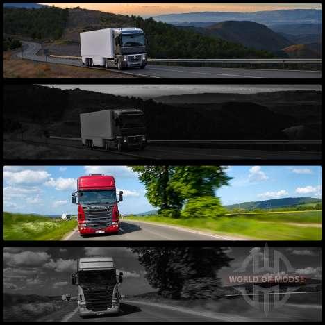 Загрузочные экраны v2 для Euro Truck Simulator 2