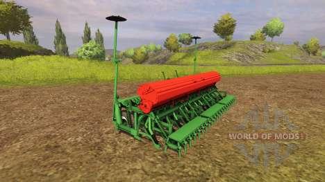 Комбинация культиватора с сеялкой для Farming Simulator 2013