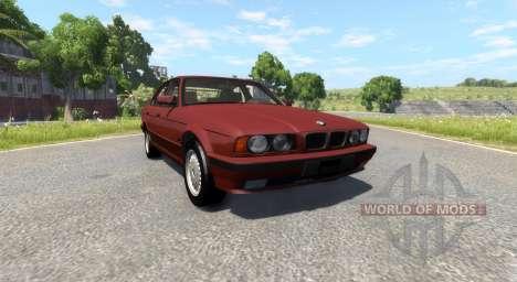 BMW 525 E34 для BeamNG Drive