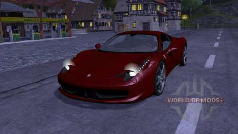 Ferrari 458 Italia для Farming Simulator 2013