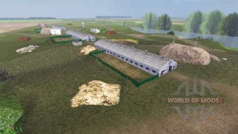 Локация Новгородовка v3.0 для Farming Simulator 2013