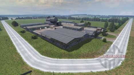 Локация с.Воскресенка для Farming Simulator 2013