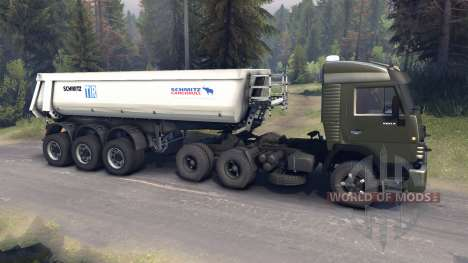 КамАЗ-5410 v2.0 для Spin Tires