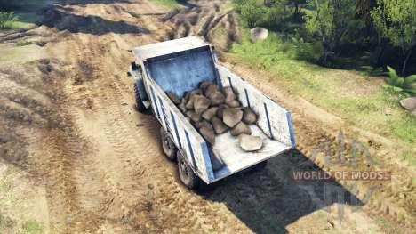 Кузов самосвал на Урал для Spin Tires
