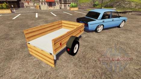ВАЗ 2106 easy tuning для Farming Simulator 2013