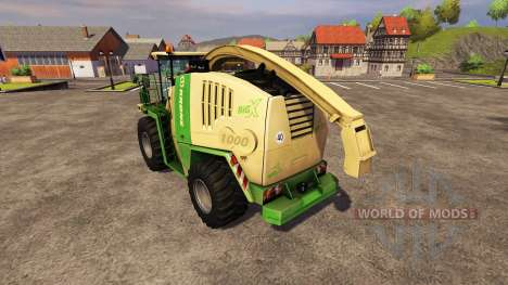 Krone BIG X1000 v2.0 для Farming Simulator 2013