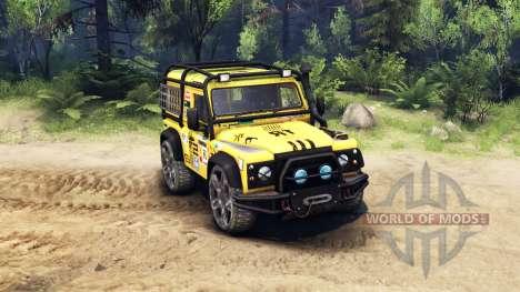 Land Rover Defender 90 v2.0 для Spin Tires