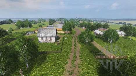 Локация Колхоз Рассвет для Farming Simulator 2013