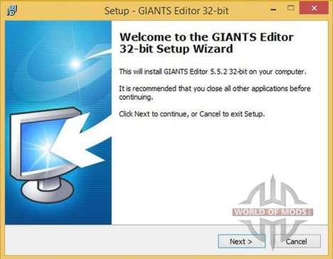 GIANTS Editor v5.5.2 32bit для Farming Simulator 2013