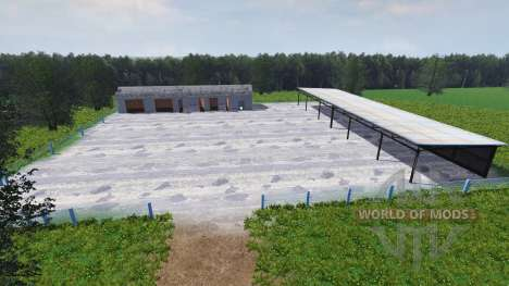 Русская карта v2.0 для Farming Simulator 2013