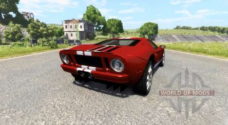 Ford GT 2005 для BeamNG Drive