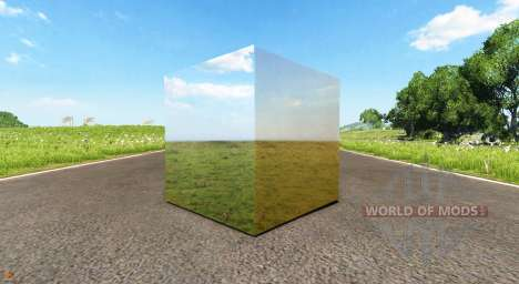 Зеркальный куб для BeamNG Drive