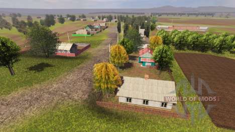 Локация Тарасовка для Farming Simulator 2013
