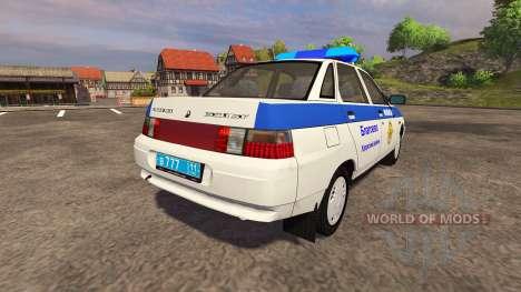 ВАЗ 2110 Милиция для Farming Simulator 2013