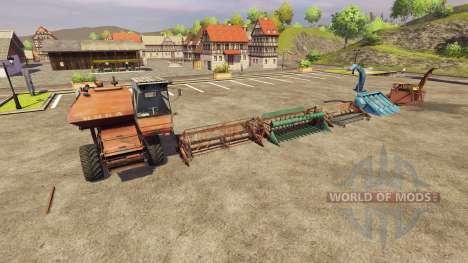 СК 5 Нива [Пак] для Farming Simulator 2013