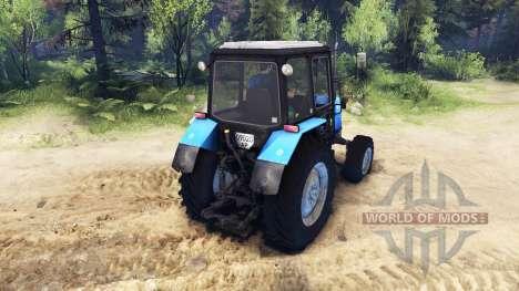 МТЗ 1025 Беларус для Spin Tires