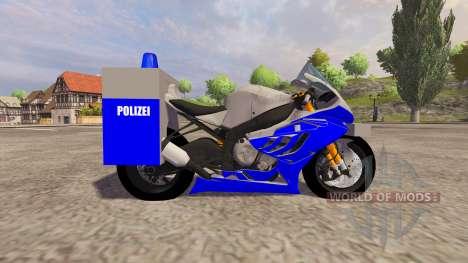 BMW Polizei для Farming Simulator 2013