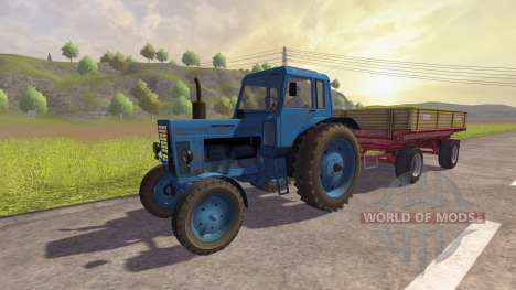 Российский трафик для Farming Simulator 2013