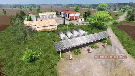 Белорусская карта СПК Борки Агро для Farming Simulator 2013