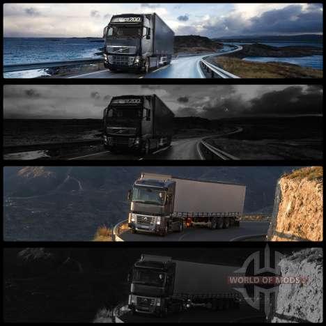 Загрузочные экраны для Euro Truck Simulator 2