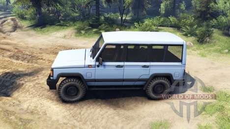 УАЗ-3170 v1.1 для Spin Tires