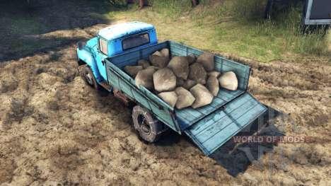 Груз арбузов и камней для Spin Tires