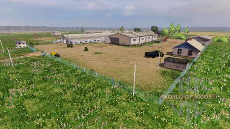 Локация Самара-Волга v2.0 для Farming Simulator 2013