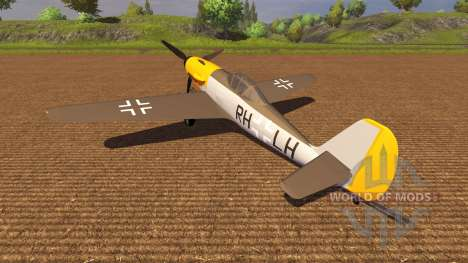 Самолёт Messerschmitt v3.0 для Farming Simulator 2013