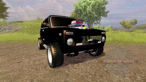 ВАЗ 2121 Нива Monster для Farming Simulator 2013