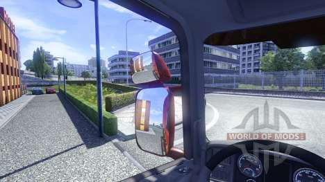 Зеркала для Scania для Euro Truck Simulator 2
