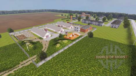 Локация Колхоз Рассвет v2.0 для Farming Simulator 2013