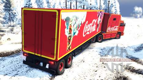 КамАЗ 54112 РИАТ Новогодний без гирлянд для Spin Tires
