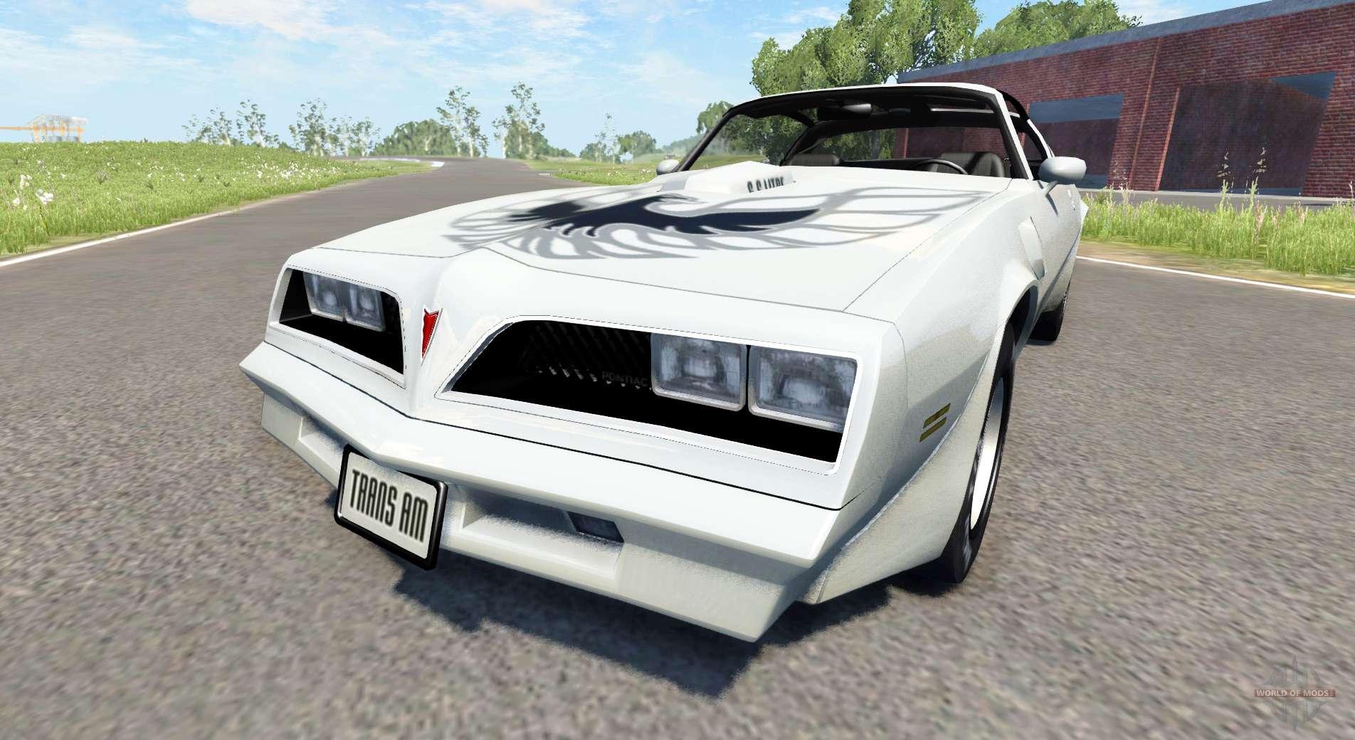 Pontiac Firebird Trans Am 1977 для BeamNG Drive